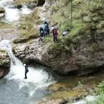Canyoning mit Kinder: Worauf Ihr achten solltet