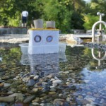 Basteln mit Kindern: Einen Dampfer der schwimmt