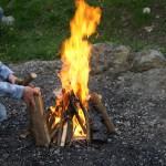 Lagerfeuer machen: Sicherheit oder flammendes Inferno?