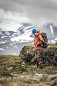Outdoorbekleidung von Fjällräven setzt mit der Keb Eco-Shell-Serie neue Maßstäbe: Flourcarbonfrei und mit recycelten Materialien gefertigt.  Foto (c) fjällräven