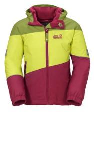 Mehr Farbe für den Winter! Die neue Jack Wolfskin Kinderkleidung, wie hier das TRIAD II JACKET KIDS, beweisen wie bunt der Winter sein kann. Foto (c) kinderoutdoor.de