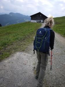 Deuter Gogo Daypack, auch bei leichten Wanderungen gut zu gebrauchen.  Foto (c) kinderoutdoor.de