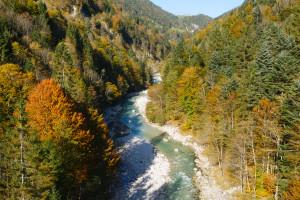 Herbst in Tirol: Da gehört unbedingt eine Wanderung durch die Tiefenbachalm dazu. Foto (c) Tirol.com
