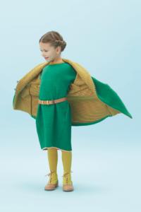 Das ist Ökomode für Kinder? Ja! Macarons kombiniert in einem speziellen Verfahren Wolle und Baumwolle. Das lässt sich tragen und sehen. foto (c) macarons