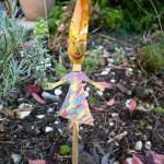 Schneckenhäuser: Wir basteln eine Herbsthexe