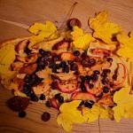 Kochen am Lagerfeuer: Süßer Flammkuchen passt immer!