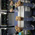 So sehen die Testfüße bei Gore Tex aus. Was wie Nägel aussieht, sind in Wirklichkeit Sensoren, die ihre Messergebnisse weitergeben.   Foto (c) kinderoutdoor.de