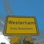 Westerham in Oberbayern. Hier ist ein Standort von Gore Tex.  Foto (c) kinderoutdoor.de