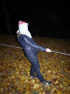 Nachtwanderung mit Spiel: Der grauenhafte Geisterpfad! Foto (c) kinderoutdoor.de