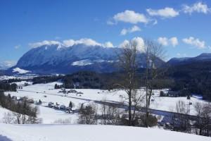 Winter in der Steiermark: Rund um den Dachstein gibt es genügend Möglichkeiten für Outdoor Familien.  Foto (c) kinderoutdoor.de