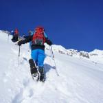 Kinder Outdoor Winter Abenteuer rund um Oberstdorf