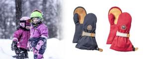 Die neue Kinderhandschuhe von Hestra sind da! Helags Junior Mitt ist mit Holzgegerbten Ziegenleder ausgerüstet.  Foto (c) hestra