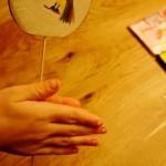Werken mit dem Taschenmesser: Wir basteln das Vogerlspiel