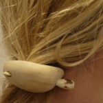 Schnitzen mit dem Taschenmesser: Eine Haarspange