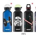 Sigg Star Wars Aluflaschen: Möge der Durst mit Euch sein!