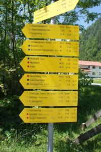 Wandern mit Kindern: Planung ist alles. Geht mit den Kindern kein Risiko in den Bergen ein.  foto (c) kinderoutdoor.de