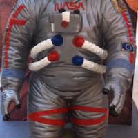 Unsere Schnitzeljagd Astronaut begeistert die Kinder!  Foto (c) kinderoutdoor.de