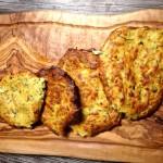 Zucchini Puffer: Kinder kochen selbst