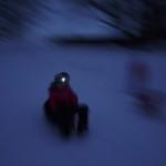 Nachtrodeln mit Kindern: Das Abenteuer vor der Haustüre