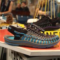 ISPO 2016: Den Keen Uneek, ein unglaublich leichter und luftiger Schuh, gibt es bald auch für Kinder.   Foto (c) keen footwear