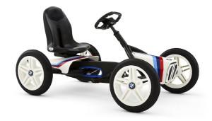 Ein Pedalgokart das nie die Bodenhaftung verliert: Berg BMW Street Racer.  Foto (c) Berg