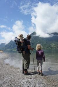 Sicher Bergwandern: Gut ausgerüstet kommt Ihr besser ans Ziel.  Foto (c) kinderoutdoor.de