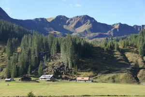 Beim Marmot Family Camp erkundet Ihr gemeinsam das Kleinwalsertal, wie hier die Alpe Melköd. Foto (c) kinderoutdoor.de Foto (c) kinderoutdoor.de