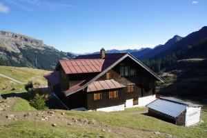 Der Weg ist das Ziel! Dieses Motto gilt für die Schwarzwasser Hütte im Kleinwalsertal.  Foto (c) kinderoutdoor.de