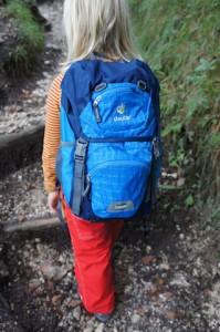 Kinderrucksack Junior von Deuter: Der passt einfach! Foto (c) kinderoutdoor.de