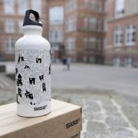 SIGG Malwettbewerb: Miranda vom Gymnasium Eppendorf in Hamburg überzeugte mit diesem professionellen Design.   Foto (c). SIGG.com