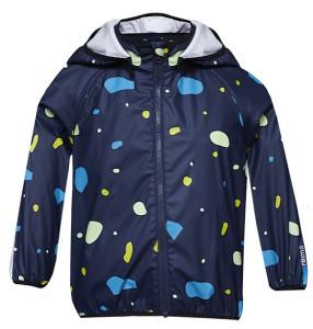 Reima Kinderkleidung überzeugt durch ihr Design und ihre Funktionalität. Bestes Beispiel ist der PVC freie Regenmantel Kupla Raincoat. Foto (c) reima
