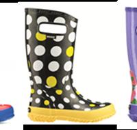 Bogs Kids Rain Boots: Bunt, leicht und wasserdicht.   Foto (c) Bogsfootwear