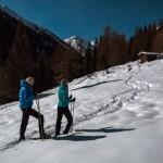 Osttirol: Schneeschuhwandern beim Vollmond