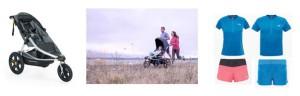 Joggen mit dem Kinderwagen: Burley und The North Face haben tolle Tipps dazu. Foto (c) kinderoutdoor.de
