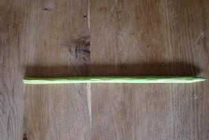 Den Stiel der Tulpe malen wir grün mit den Wasserfarben an. Foto (c) kinderoutdoor.de
