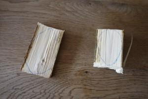 Grob die Eier mit dem Taschenmesser aussägen.  foto (c) kinderoutdoor.de