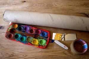 Kinder basteln ein Periskop: Hier seht Ihr das notwendige Material dazu.  Foto (c) kinderoutdoor.de