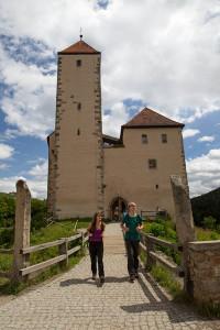 Eine Jugendherberge befindet sich in Burg Trausnitz in der Oberpfalz. © Landratsamt Schwandorf, Stefan Gruber