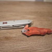 Nur mit dem Taschenmesser haben wir den Fuchs so toll hingebracht.   foto (c) kinderoutdoor.de