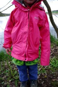 Marmot Regenjacke für Kinder im Test.  Foto (c) kinderoutdoor.de
