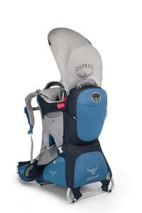 Osprey Kindertragen haben auch ein Spitzenmodell: Die Poco AG Premium mit abnehmbaren Rucksack.  foto (c) osprey