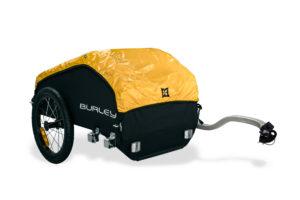 Der Transportanhänger Nomad von Burley lässt sich problemlos bedienen und ist auch im Alltag eine große Hilfe. foto (c) burley.com