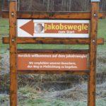Jakobsweg mit Kindern: Eineinhalb Stunden göttliches Wandern
