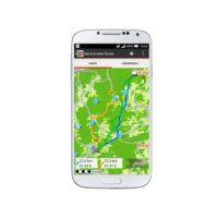 Die neue Falk Outdoor Navigation App ist da, für alle die auch beim Wandern gerne auf ein Display starren.   foto (c) falk