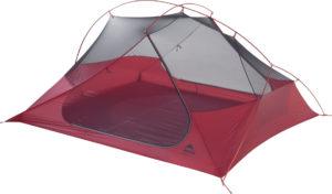 MSR Freelite 3: Das freistehende Zelt wiegt deutlich weniger als zwei Kilogramm.  foto (c) kinderoutdoor.de