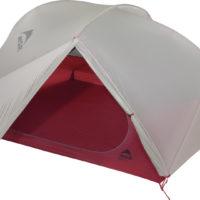 MSR Zelte, wie das ultarleichte Freelite 3, stehen in kürzester Zeit.   foto (c) kinderoutdoor.de