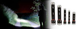 Coleman Divide+ Taschenlampen haben den Dreh raus und schonen die Batterien.  Foto (c) Coleman