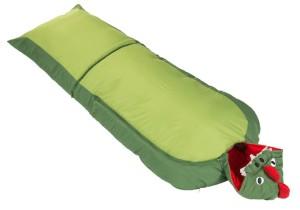 Ein Kinderschlafsack mit silikonisierten Hohlfasern: Das bietet der Star Walker junior dragon von der britischen Outdoor-Marke Vango. foto (c) kinderoutdoor.de