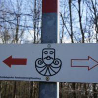 Wandern mit Kindern und Ihr könnt das GPS Gerät zuhause lassen: Die Kelten weisen Euch den Weg.   foto (c) kindeoutdoor.de