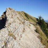 Wandern mit Kindern: Der Aufstieg zum Hochgrat, dem Mount Everest der Nagelfluhkette.   foto (c) kinderoutdoor.de
